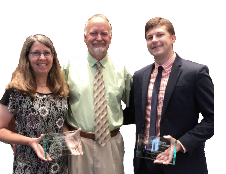 A trio of VIMS researchers took home Governor's Technology Awards for developing online coastal tools.