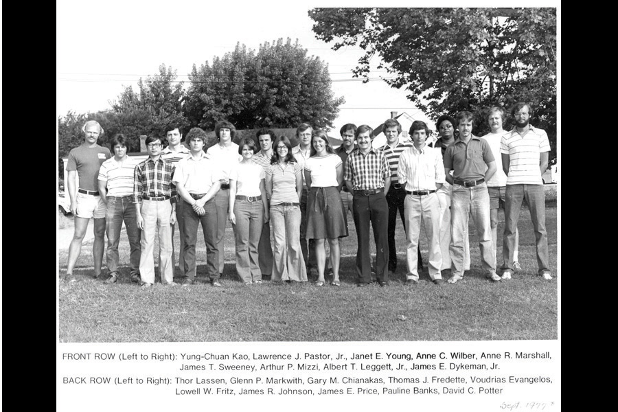 The class of 1977.
