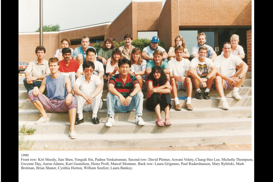 The matriculating class of 1990.