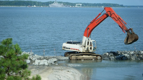 Breakwater - Construction