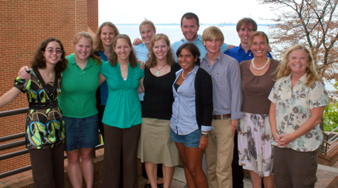 Summer Intern (REU) Class of 2010