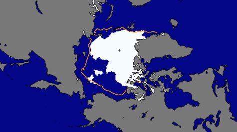 Shrinking Arctic Sea Ice