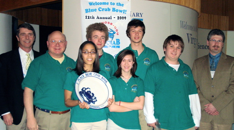 First Place Winners 2009 Blue Crab Bowl