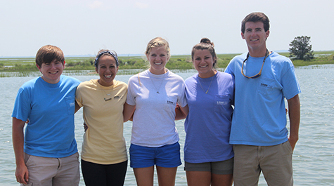 2015 Eastern Shore Lab Interns
