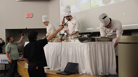 Seafood Cooking Competition