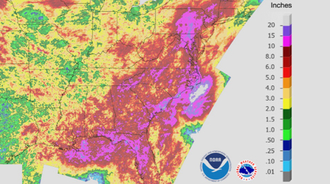East Coast Rainfall