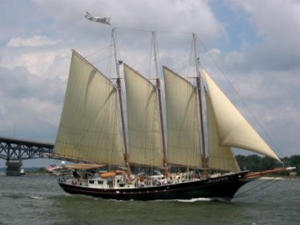The schooner Alliance.
