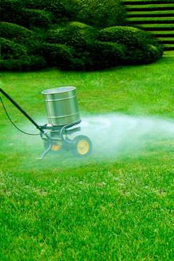 Fertilization of home yards and gardens is another source of nitrogen to the environment.