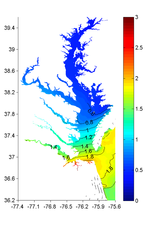 Observations and modeling show irene s storm tide lower than that