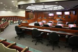 W&M's McGlothlin Courtroom is the world's most technologically advanced.
