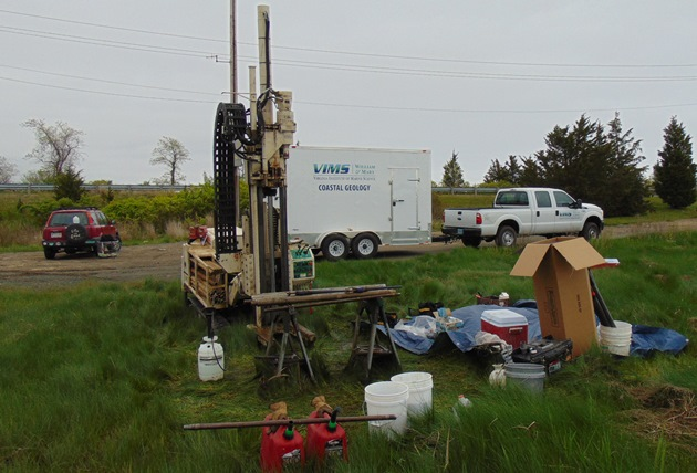 Coastal Geology Coring Rig & Trailer