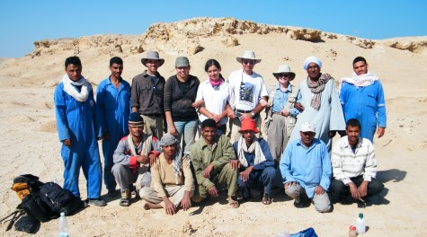 Wadi Gawasis Field Team